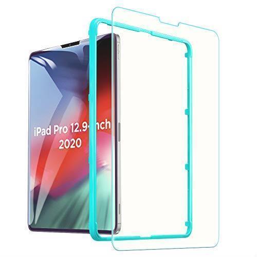 !- ESR iPad Pro 12.9 フィルム (2020/2018)用 ブルーライトカット ガラスフィルム 液晶保護 硬度9H_画像1
