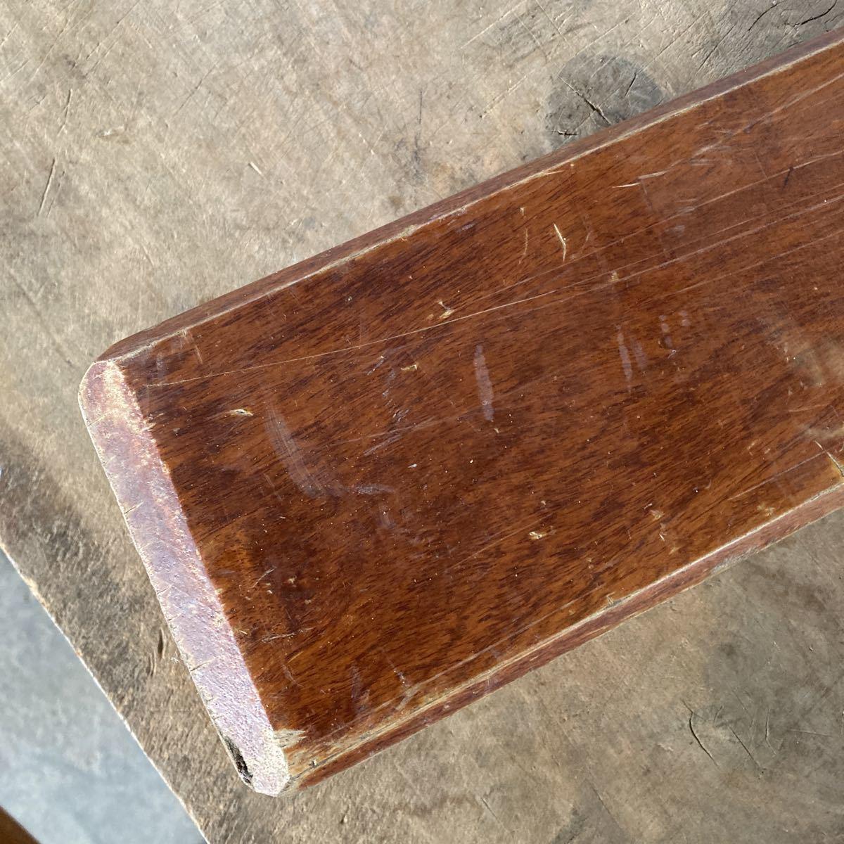 古い 重量木 素材 ナイフメイキング 木 堅い木 6.46kg 長さ50cm _画像4