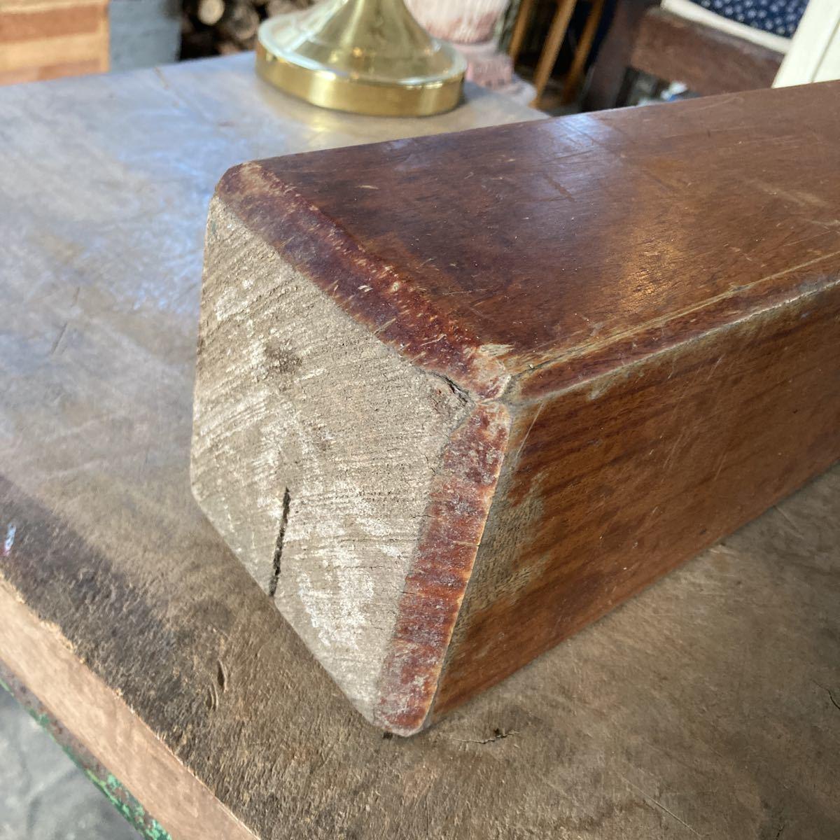 古い 重量木 素材 ナイフメイキング 木 堅い木 6.46kg 長さ50cm _画像3