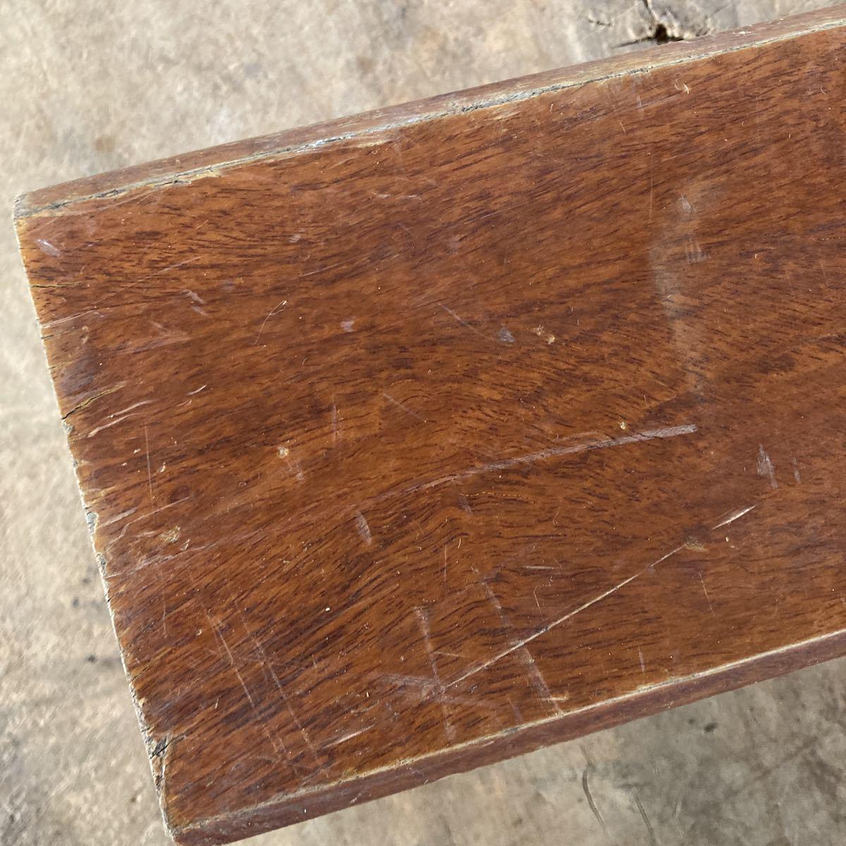 古い 重量木 素材 ナイフメイキング 木 堅い木 6.46kg 長さ50cm _画像6