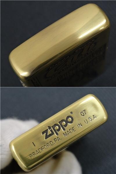 【未使用】Zippo HONDA Super Cub 50th ANNIVERSARY ホンダ スーパーカブ 50周年記念 2007年製_画像4