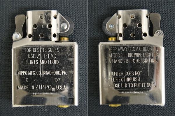 【未使用】Zippo HONDA Super Cub 50th ANNIVERSARY ホンダ スーパーカブ 50周年記念 2007年製_画像8