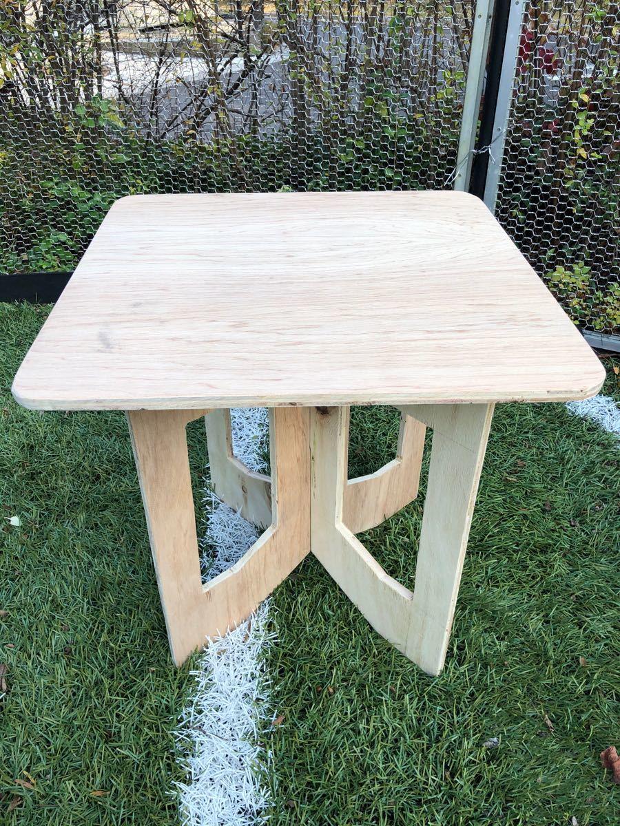 アウトドアテーブル 室内テーブル サイドテーブル ぺけ台