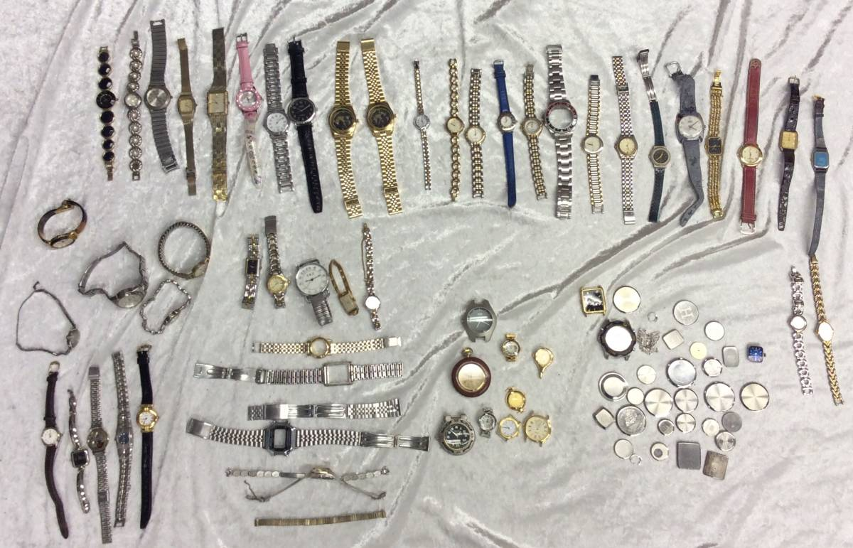 ■まとめ③【腕時計 大量 まとめて】約2061g まとめ売り セットRomanette royal crown他 メンズ レディース ジャンク ※部品取りに ■_画像1