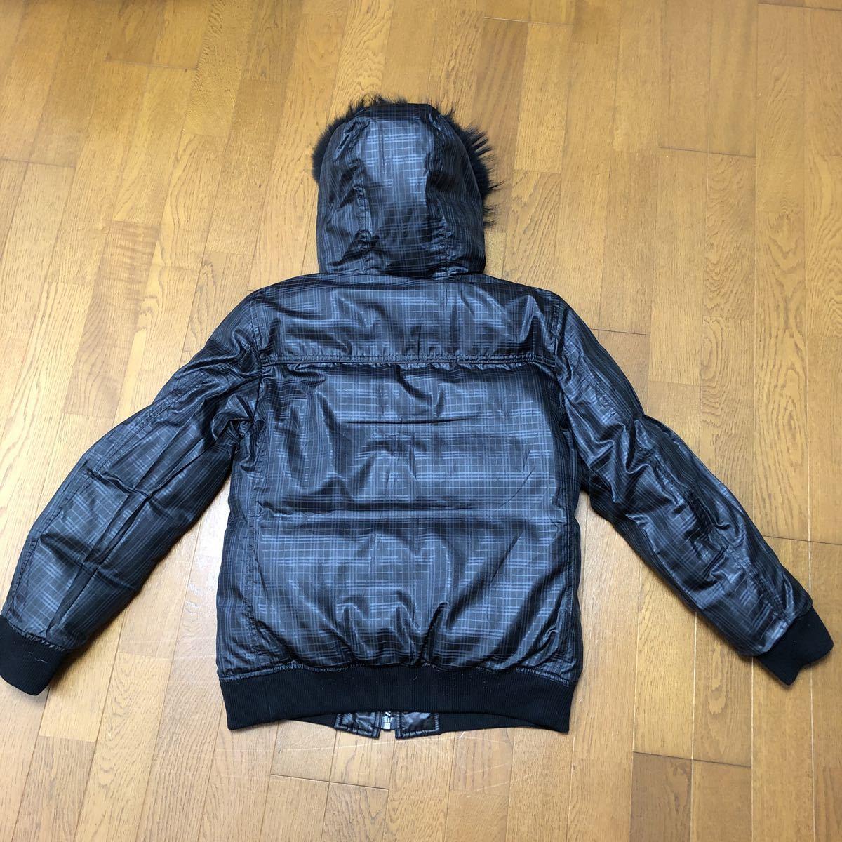 BURBERRY BLACK LABEL バーバリーブラックレーベル ダウンジャケット ブラック