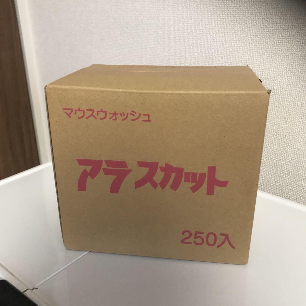 携帯用マウスウォッシュ」「個包装タイプ」「キシリトール配合」業務用 使い捨て マウスウォッシュ アラスカット14ml x250個セット_画像3