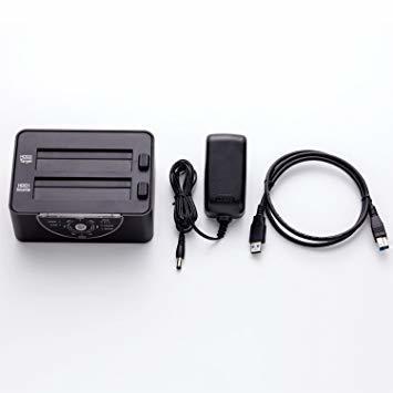 ▼●☆クローン機能あり 玄人志向 SSD/HDDスタンド 2.5型&3.5型対応 USB3.0接続 PCレスで高速クロー_画像2