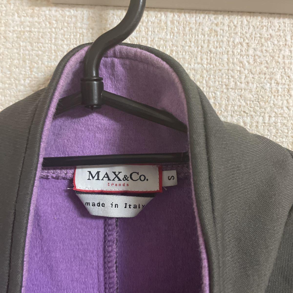 ハーフジップ MAX&CO ジャージ フリース ジャケット S