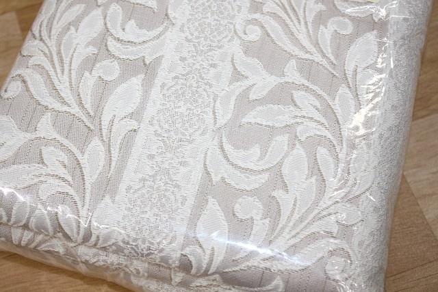 ★即決★ 新品 アウトレット ユニベール 厚地カーテン 100×185cm 2枚入 ドーマ ベージュ 洗える フック・タッセル付_画像5
