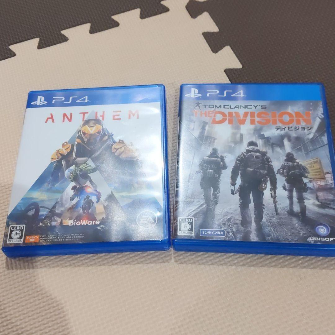 PS4 ディビジョン アンセムセット