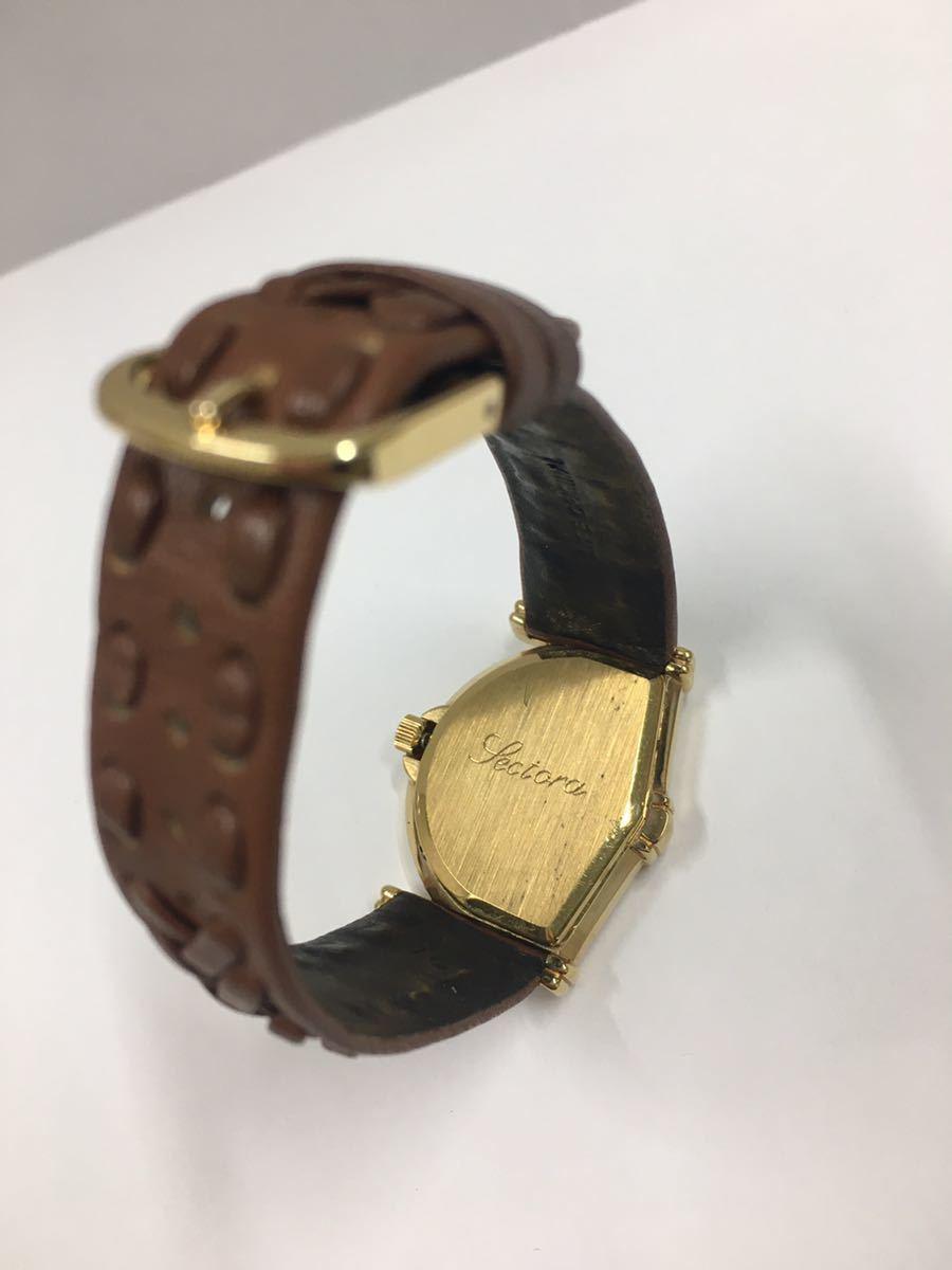 ジャンイブ セクトラ ジャンピングアワー 腕時計 クオーツ ゴールド レディース アクセサリー Jeand'Eve 時計_画像4