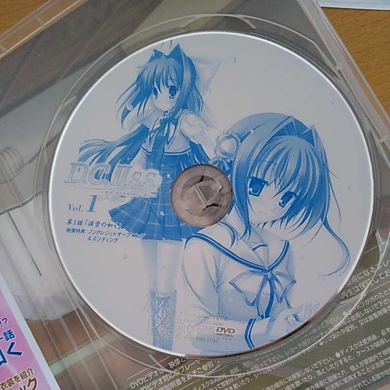 DVD ダ カーポⅡセカンドシーズン 1 セルフスタンドPOP付き