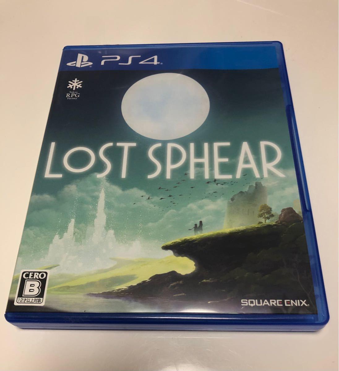 PS4ソフト LOST SPHEAR ロストスフィア