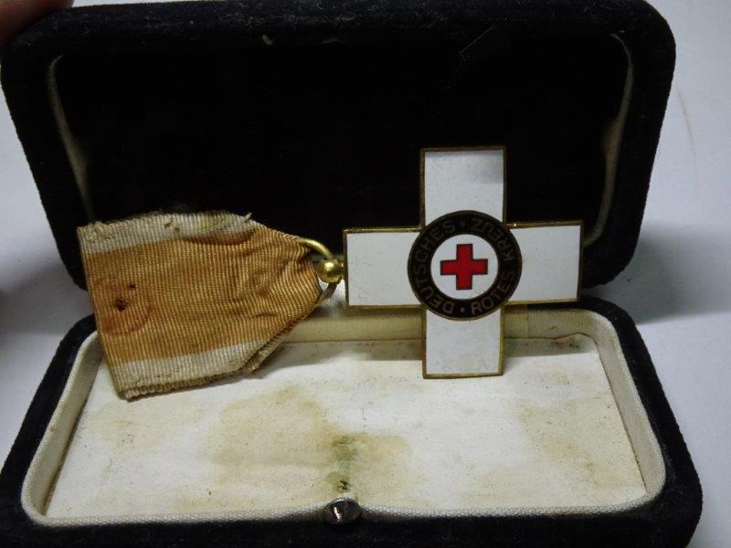 ドイツ 独 赤十字 三等勲章 レターパックプラス可 0118T3G_画像7