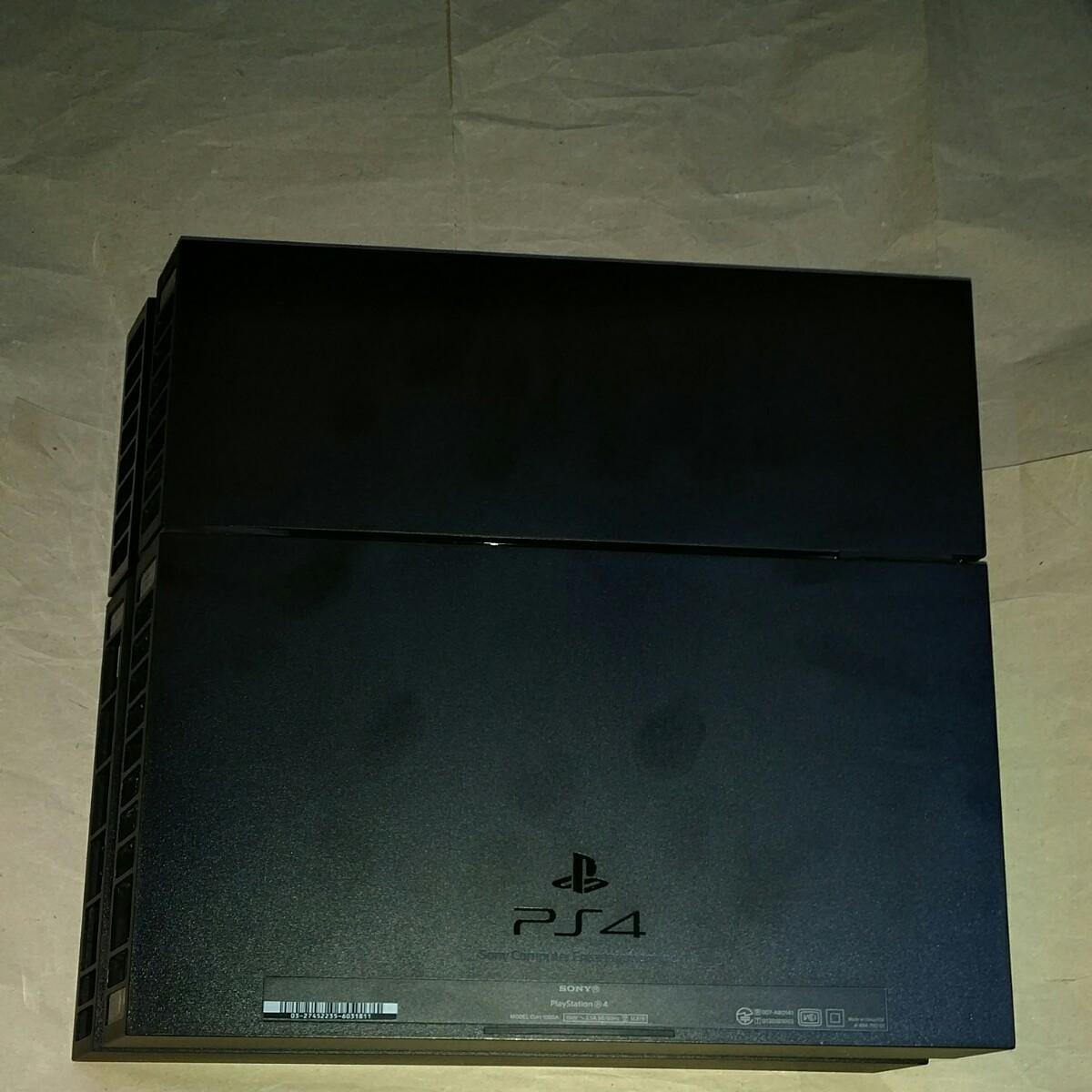 PS4 動作確認済み 黒 ジェットブラック PlayStation4