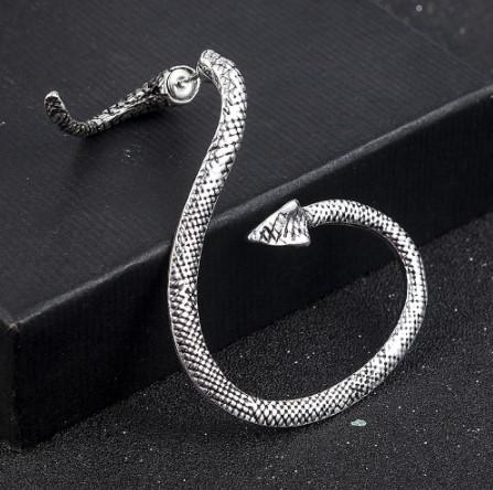 A034 ピアス ジュエリー アクセサリー 女性 ヴィンテージ スネーク形状イヤリング 女性のためのスタイルのジュエリー | 1円即決価格!_この商品はピアスです。