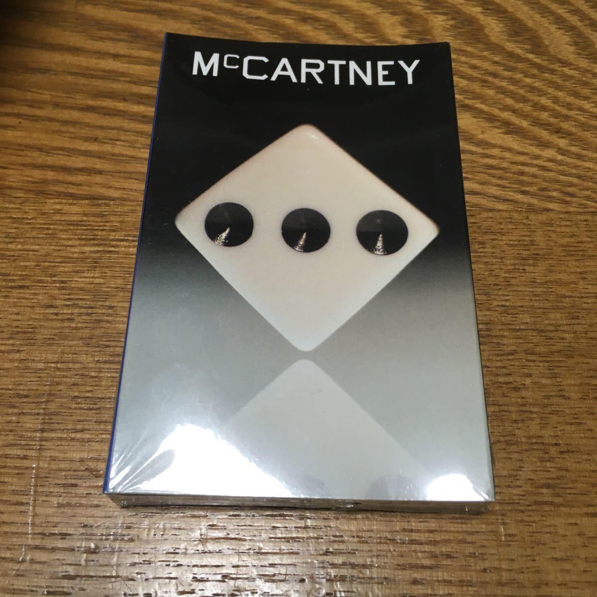 Paul Mccartney /McCARTNEY Ⅲ カセットテープ 新品未開封 ポールマッカートニー EU盤