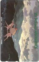 【テレカ】 宮崎駿 もののけ姫 スタジオジブリ movic販売テレカ テレホンカード 9G-MO0019 未使用・Aランク_画像1