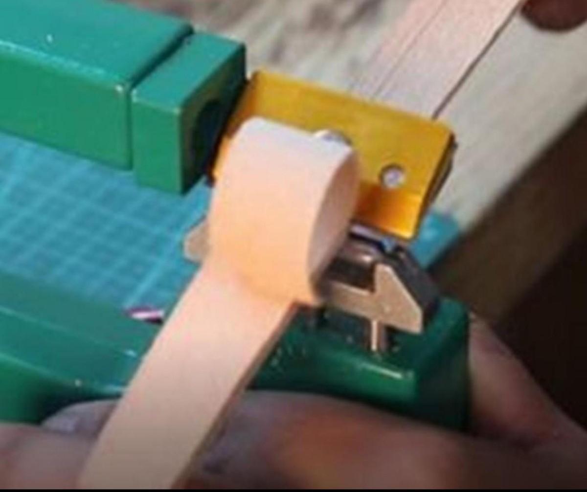 レザースプリッター 手動革漉き機 レザークラフト