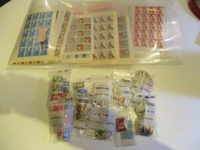 古切手◇記念切手 シート&バラ◇額面 31,089円分