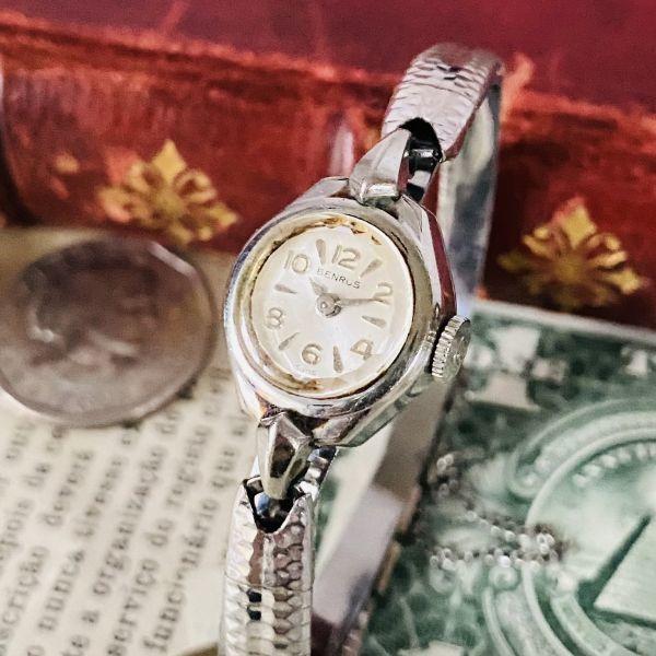 【高級腕時計 ベンラス 】Benrus 10KRGP 手巻き 17石 手巻き メンズ レディース ビンテージ アナログ 腕時計 7026_画像1