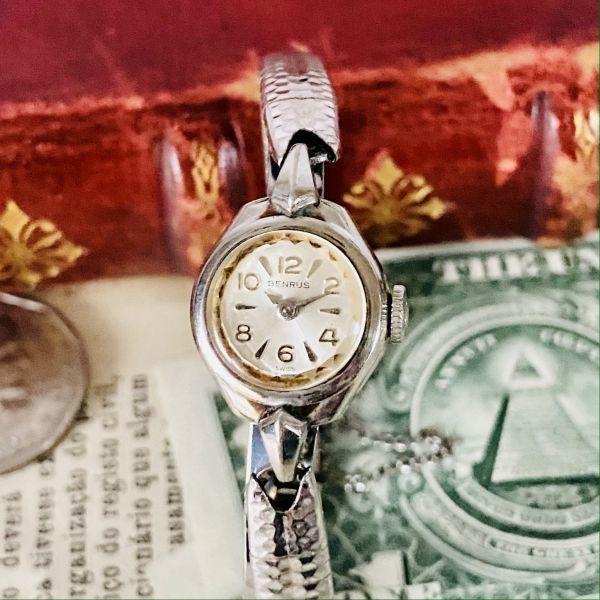 【高級腕時計 ベンラス 】Benrus 10KRGP 手巻き 17石 手巻き メンズ レディース ビンテージ アナログ 腕時計 7026_画像2