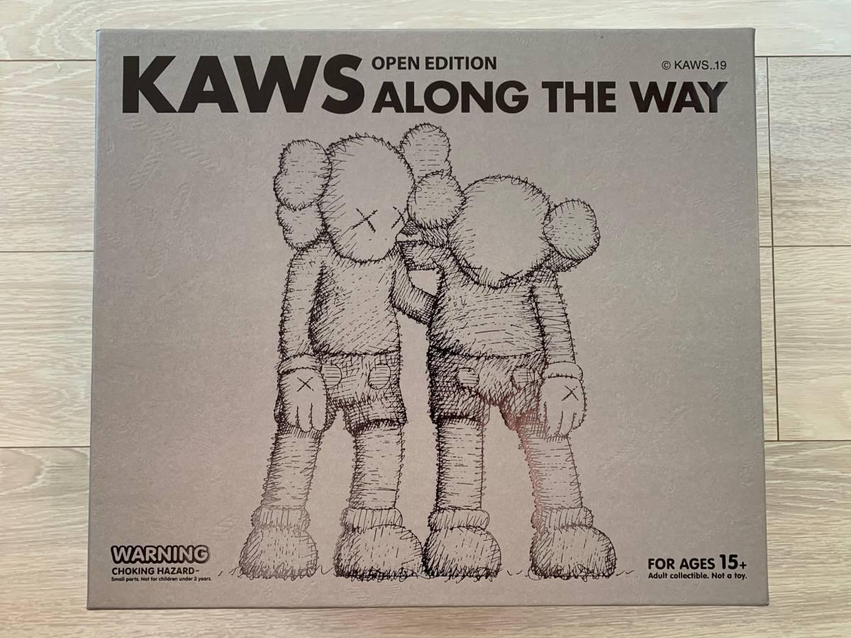 【新品未開封】【国内正規品】KAWS ALONG THE WAY Brown ブラウン 茶色 Original Fake Medicom Toy メディコムトイ ベアブリック_画像2