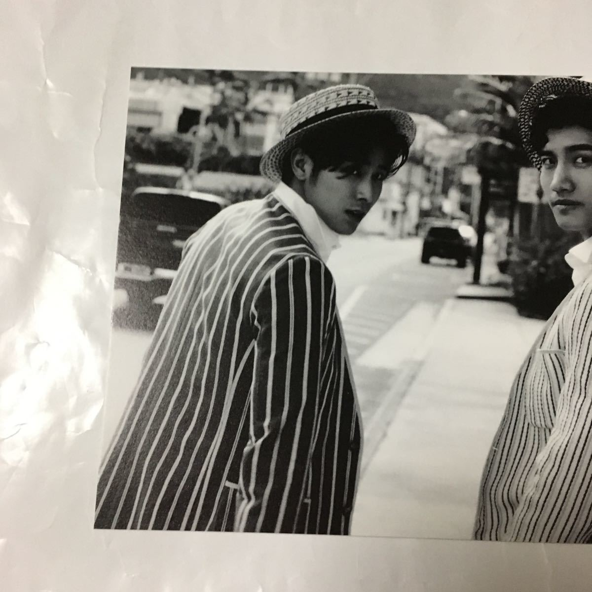 東方神起 ポストカード (STAY 'elua) 初回封入特典 非売品 ユノ チャンミン_画像3