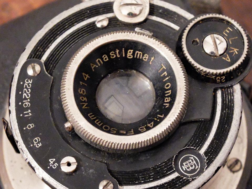 【中古/稀少/ジャンク】山本写真機工作所 錦華ラッキー〈f4.5〉:Yamamoto Shasinki Kosakusho Kinka Lucky〈f4.5〉 _画像5