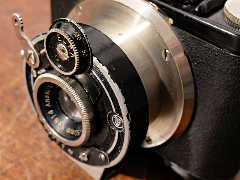 【中古/稀少/ジャンク】山本写真機工作所 錦華ラッキー〈f4.5〉:Yamamoto Shasinki Kosakusho Kinka Lucky〈f4.5〉 _画像8