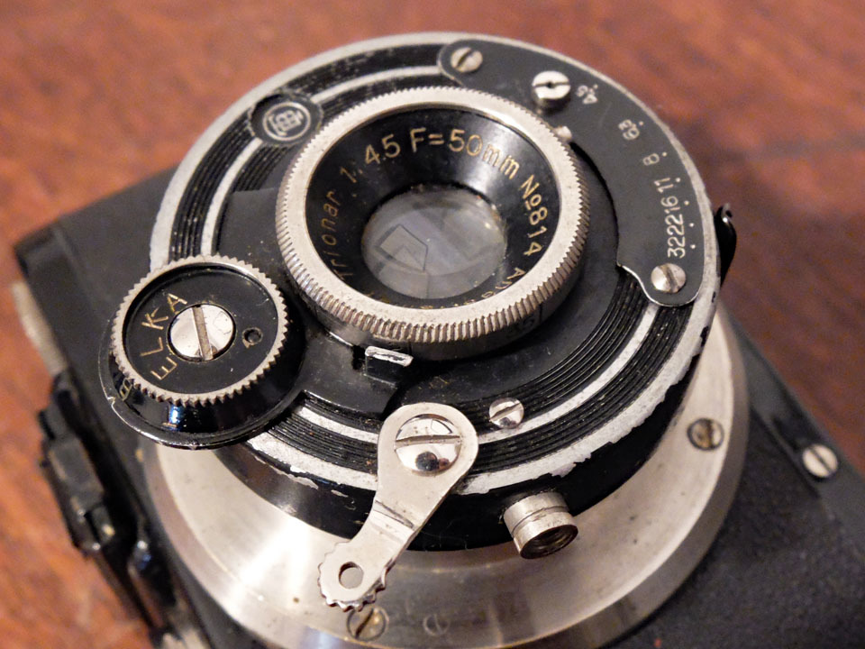 【中古/稀少/ジャンク】山本写真機工作所 錦華ラッキー〈f4.5〉:Yamamoto Shasinki Kosakusho Kinka Lucky〈f4.5〉 _画像9