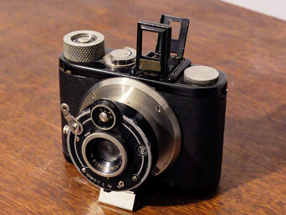 【中古/稀少/ジャンク】山本写真機工作所 錦華ラッキー〈f4.5〉:Yamamoto Shasinki Kosakusho Kinka Lucky〈f4.5〉 _画像1