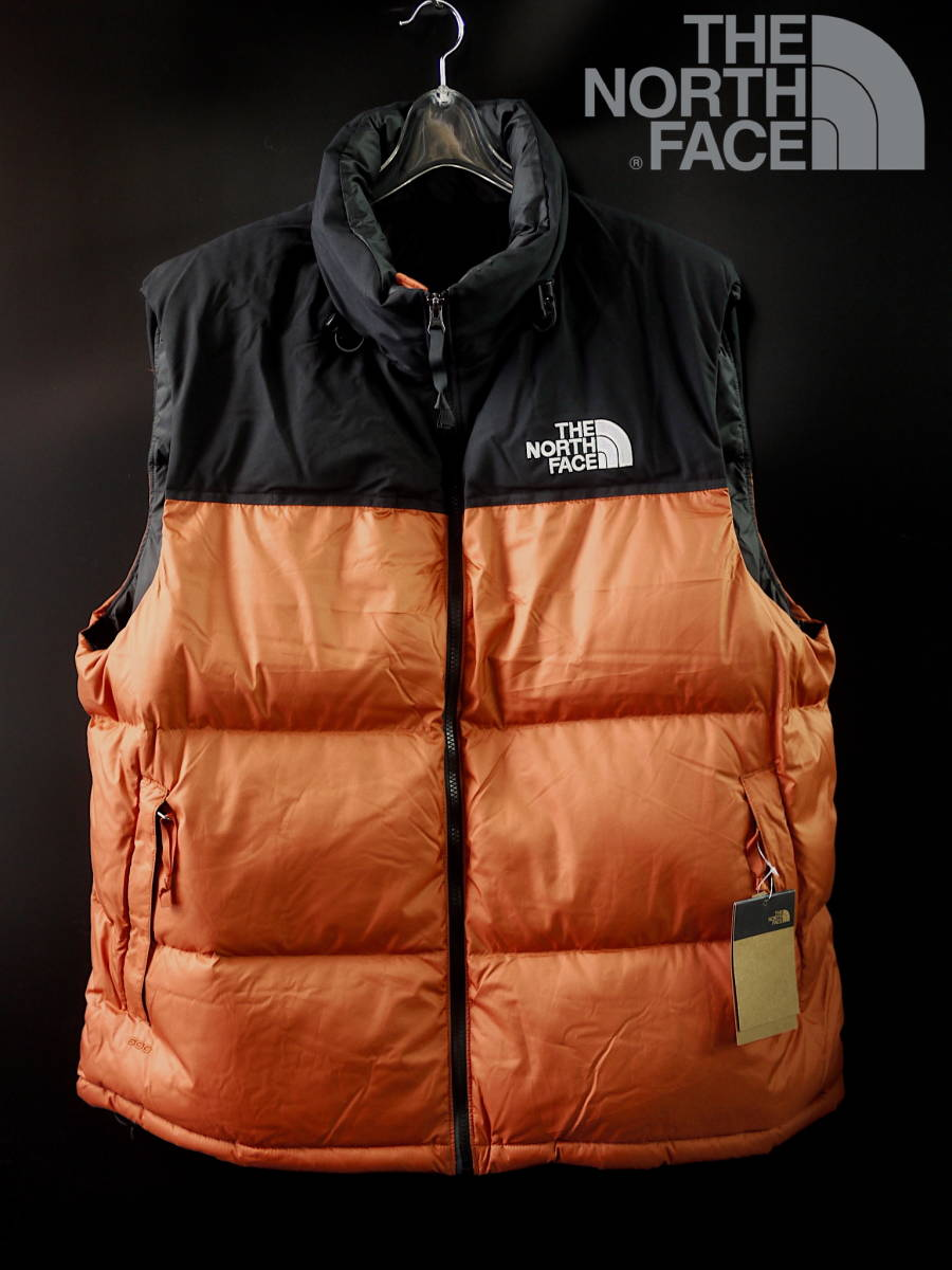 2019-20AW 希少サイズ XXL/THE NORTH FACE ECO Nupste Down VEST ノースフェイス ヌプシ ダウン ベスト コンパクト収納可能 PICANTERED