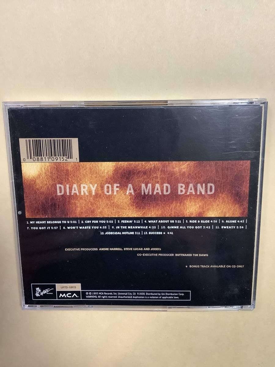 送料無料 JODECI「DIRTY OF A MAD BAND」輸入盤