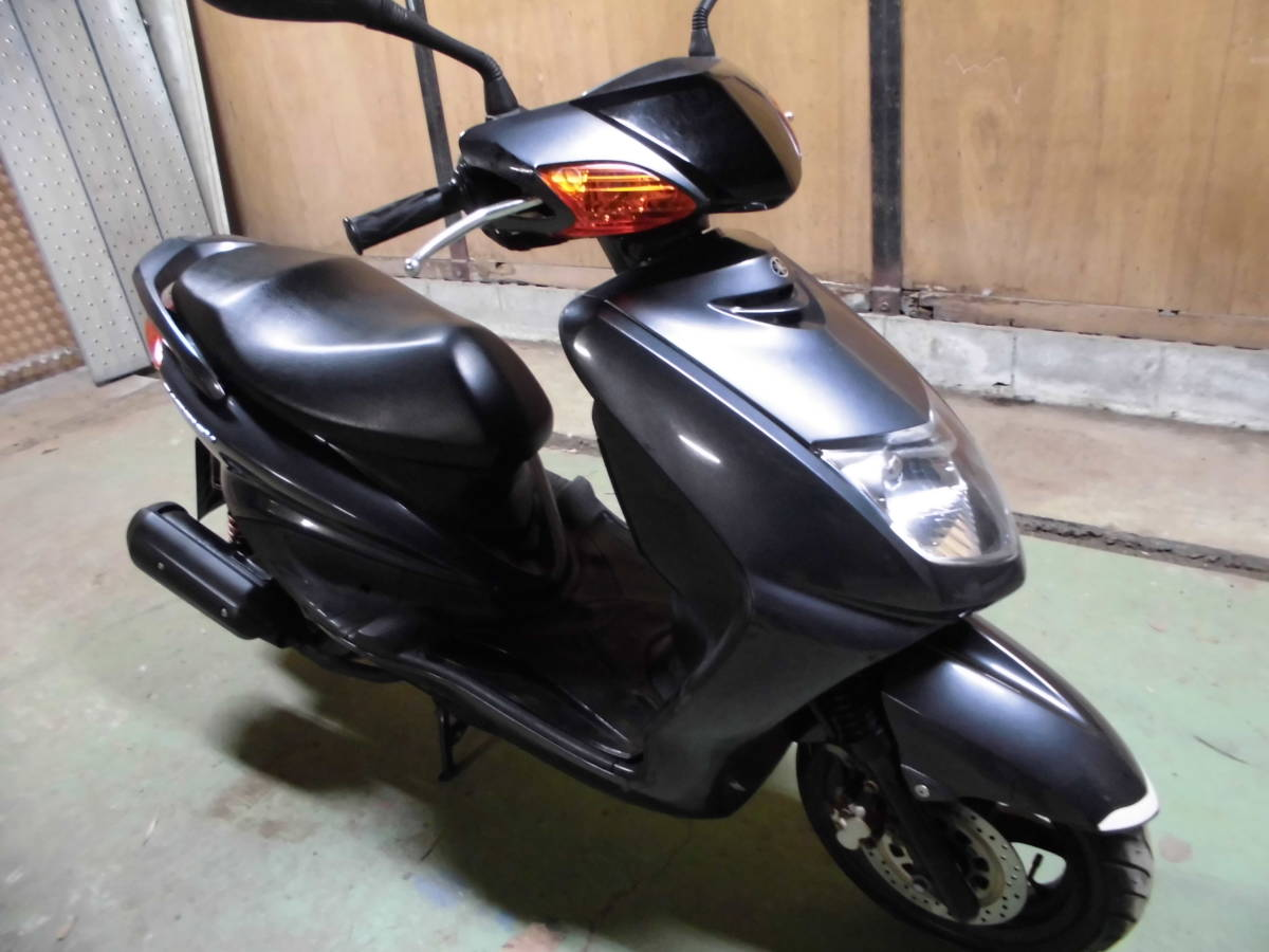 ヤマハ シグナス125X SE12J型モデル 走行9千K台 千葉市~格安発送あり。_画像4