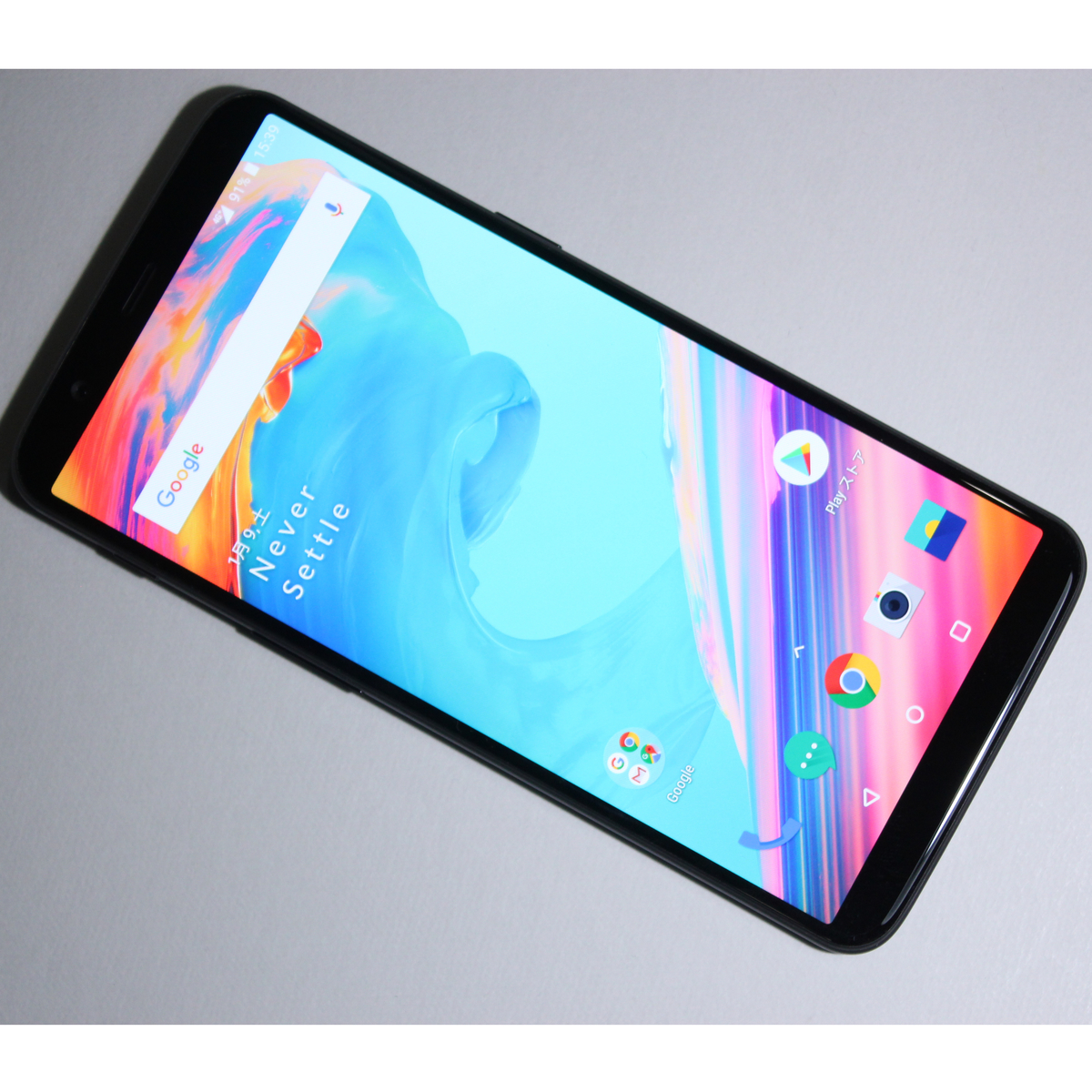 [ 8GB/128GB ] OnePlus 5T A5010 SIMフリー Android 8 アンドロイド Android8 アンドロイド8 /1_画像1