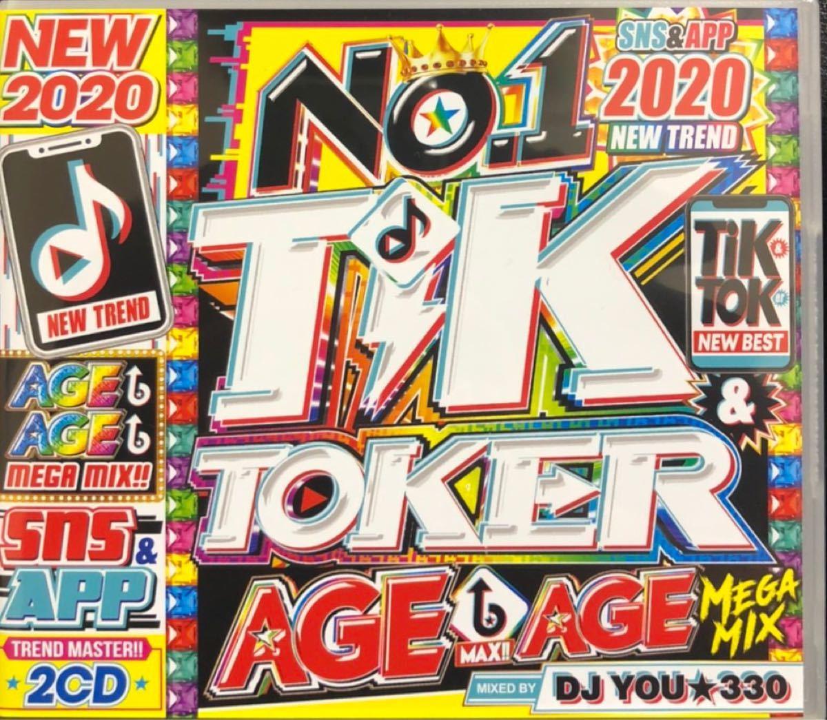 洋楽 CD NO.1 TIK & TOKER AGE AGE MEGAMIX!!