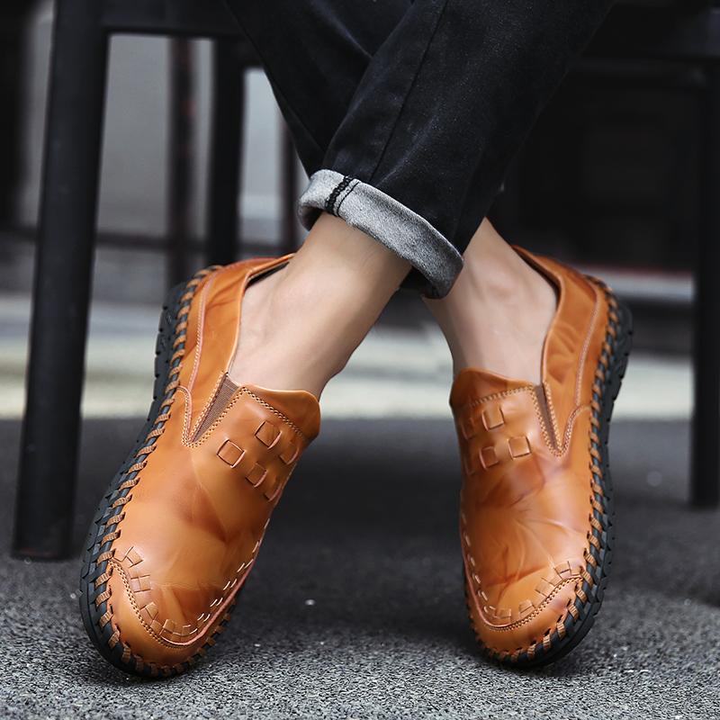 ローファー 新品 スリッポン ローカット カジュアル 紳士靴 ドライビングシューズ 快適 軽量 メンズ_画像3