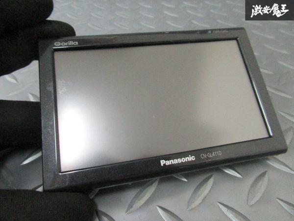 Panasonic パナソニック Gorilla ゴリラ 汎用品 CN-GL411D SSD ポータブルナビ カーナビ ワンセグ 地図データ2012年 即納 棚I-1_画像2