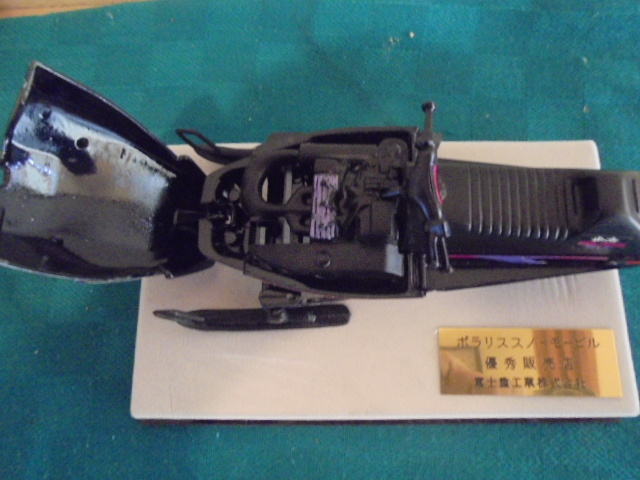 希少 非売品 ポラリススノーモービル ミニカー 約17cm ミニチュア 模型 富士重工 インテリア _画像5