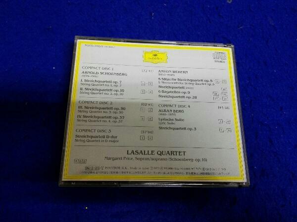 ラサール弦楽四重奏団 CD 新ヴィーン楽派の弦楽四重奏曲集_画像3