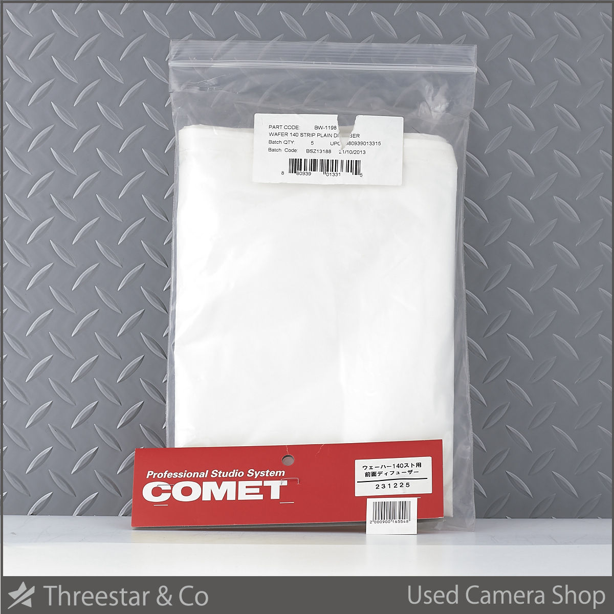 COMET コメット BW-1198 WAFER 140 ストリップ用 フロントディフューザー 中古 ウェーハー 【5】