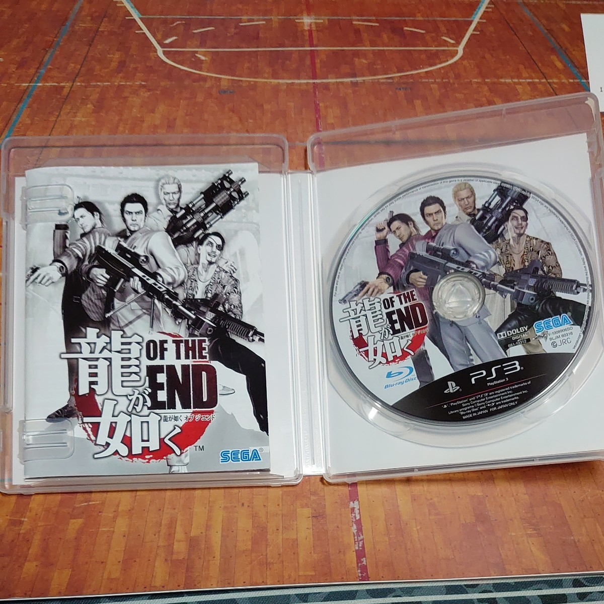 【PS3】 龍が如く OF THE END