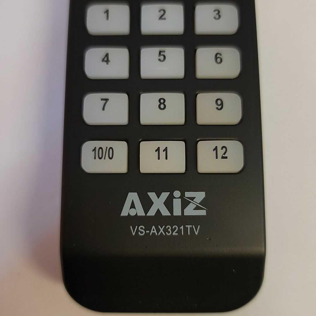 VS-AX321TV リモコン_画像2