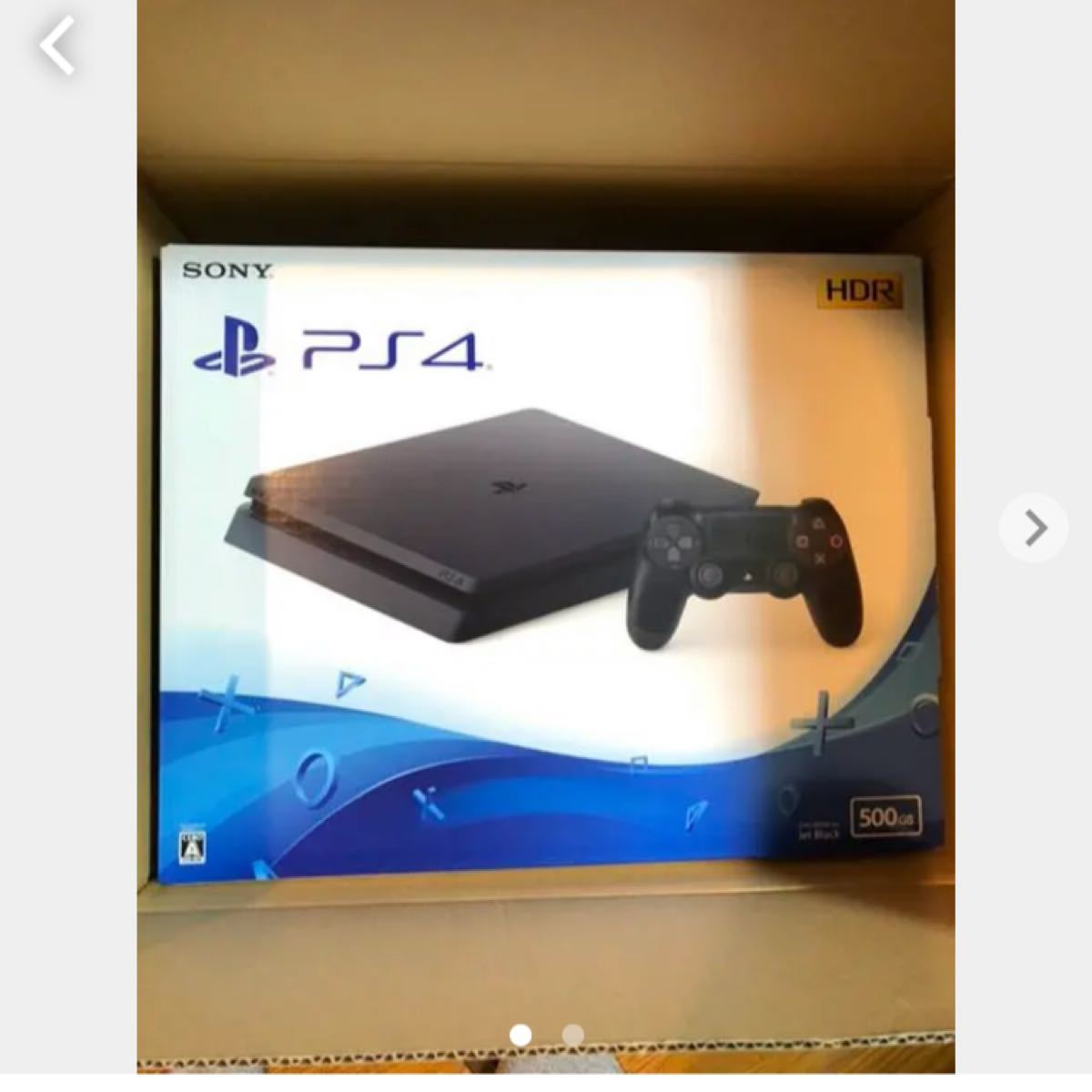 PlayStation4 CUH-2200AB01 ジェット・ブラック PS4本体 SONY PS4