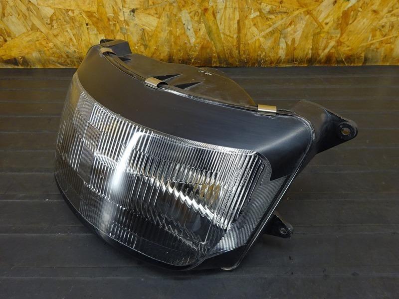 【210114】ZZR1100 D6(ZXT10D-053)■ ヘッドライト ヘッドライトユニット 【ZZ-R1100 ZX-11 D型_画像3