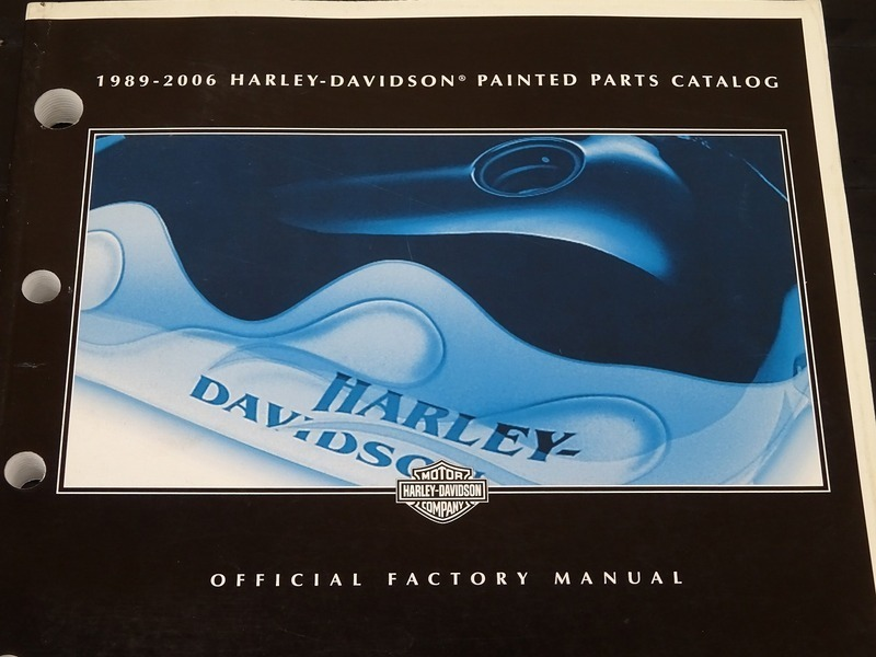 【000A】■ 1989-2006 ハーレー ペインテッドパーツカタログ HARLEY-DAVIDSON PAINTED PARTS CATALOG ペイントパーツカタログ_画像2