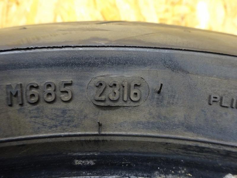 【210120】YZF-R6 '99◇ 中古タイヤ リア PIRELLI DIABLO ROSSO 180/55-17 16年23週 【5EB '99-'00_画像5