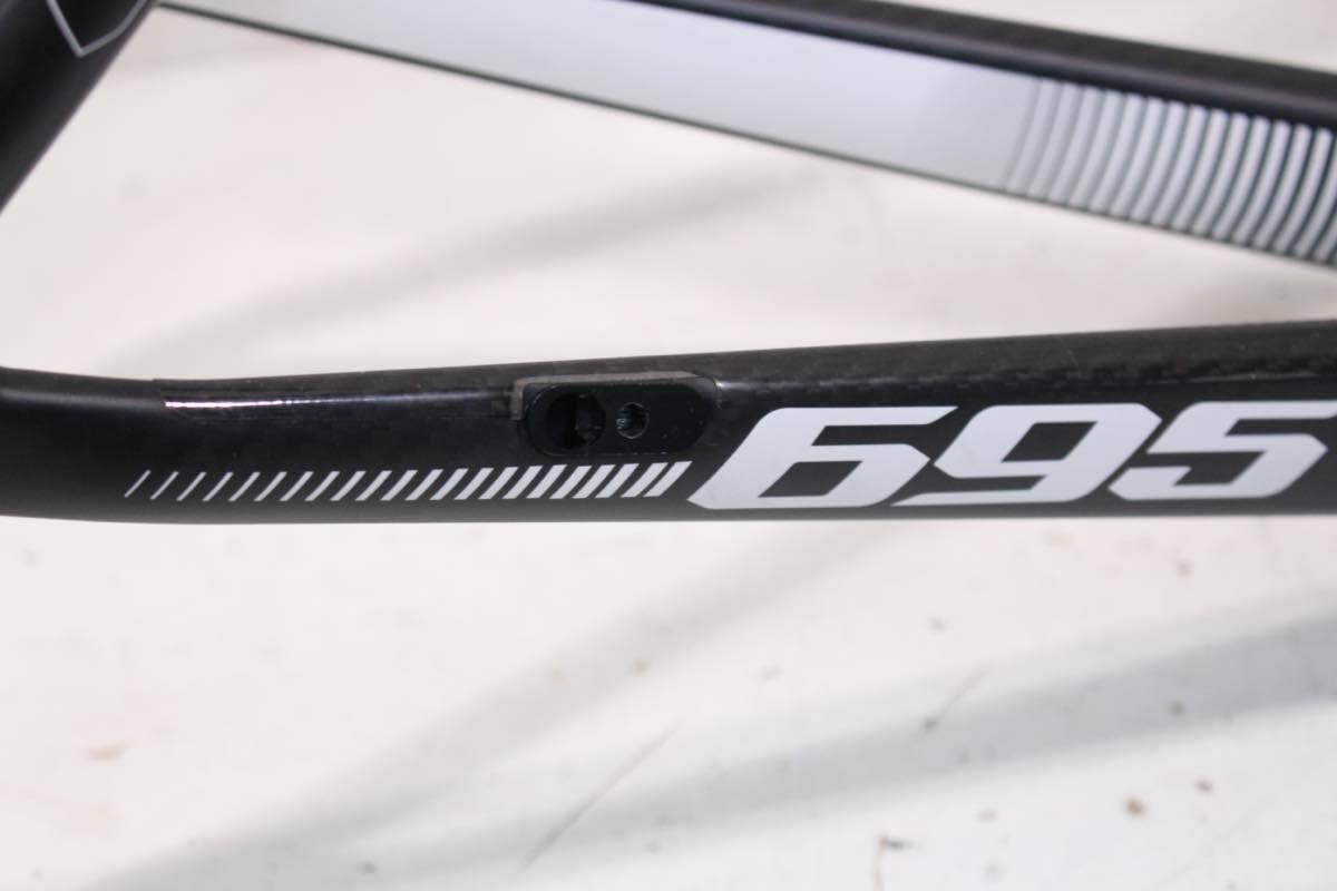 LOOK ルック 695 ZR ブラックホワイト カーボンフレーム EPOST付属 2015年 XSサイズ 超美品_画像9