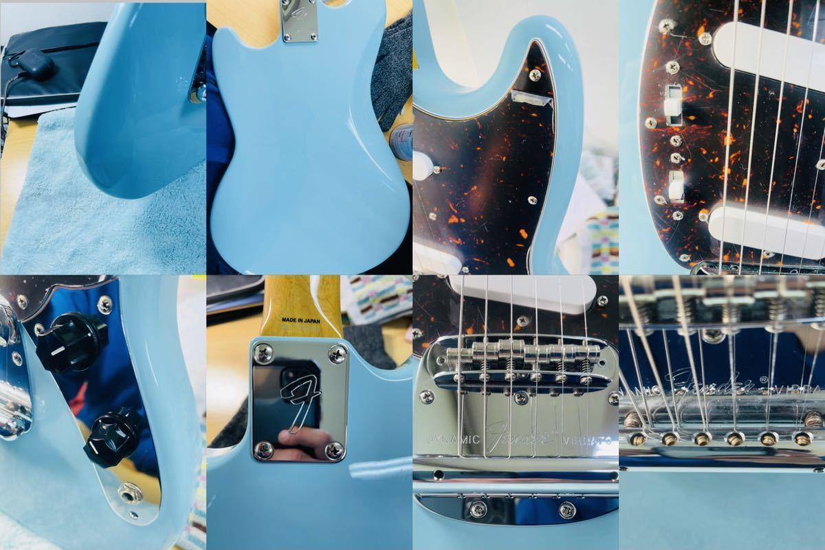 美品 Fender フェンダー MUSTANG エレキギター ムスタング U002928 肩掛けベルト ソフトケース付き_画像10